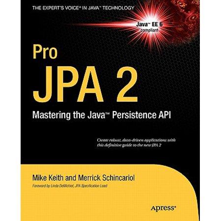 Pro JPA 2 : Mastering the Java Persistence API