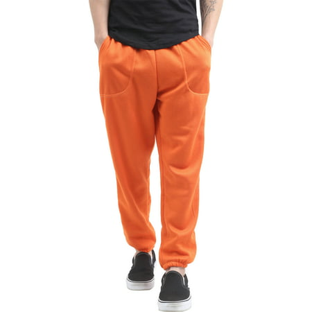 Men's Elastic Bottom Sweatpants Jogger with Pockets ()