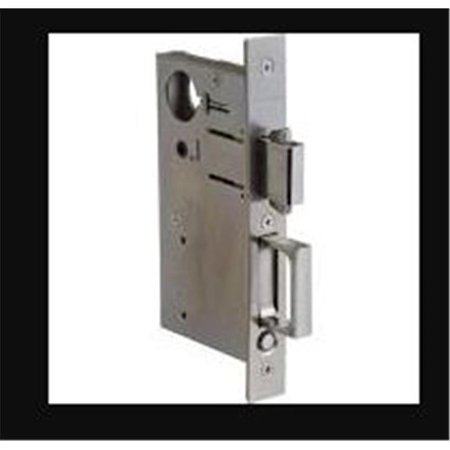 baldwin 8595102 entry sliding door lock with cylinder, oil rubbed bronze
