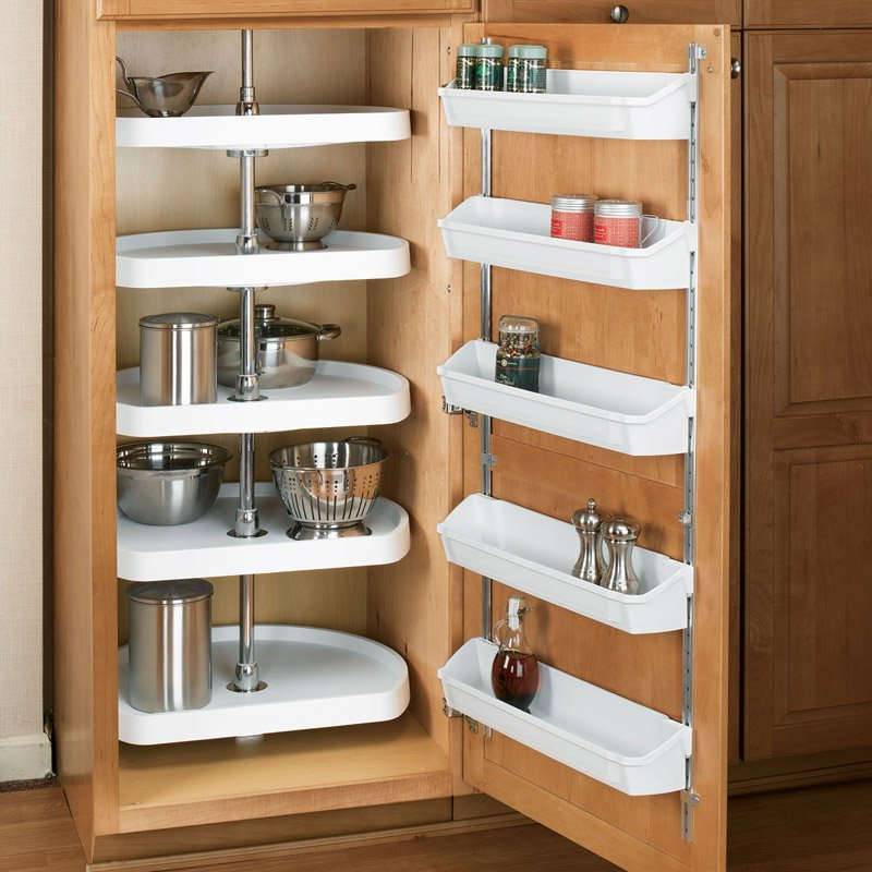 Rev-a-Shelf D Shaped 5 Shelf Pantry Lazy Susan