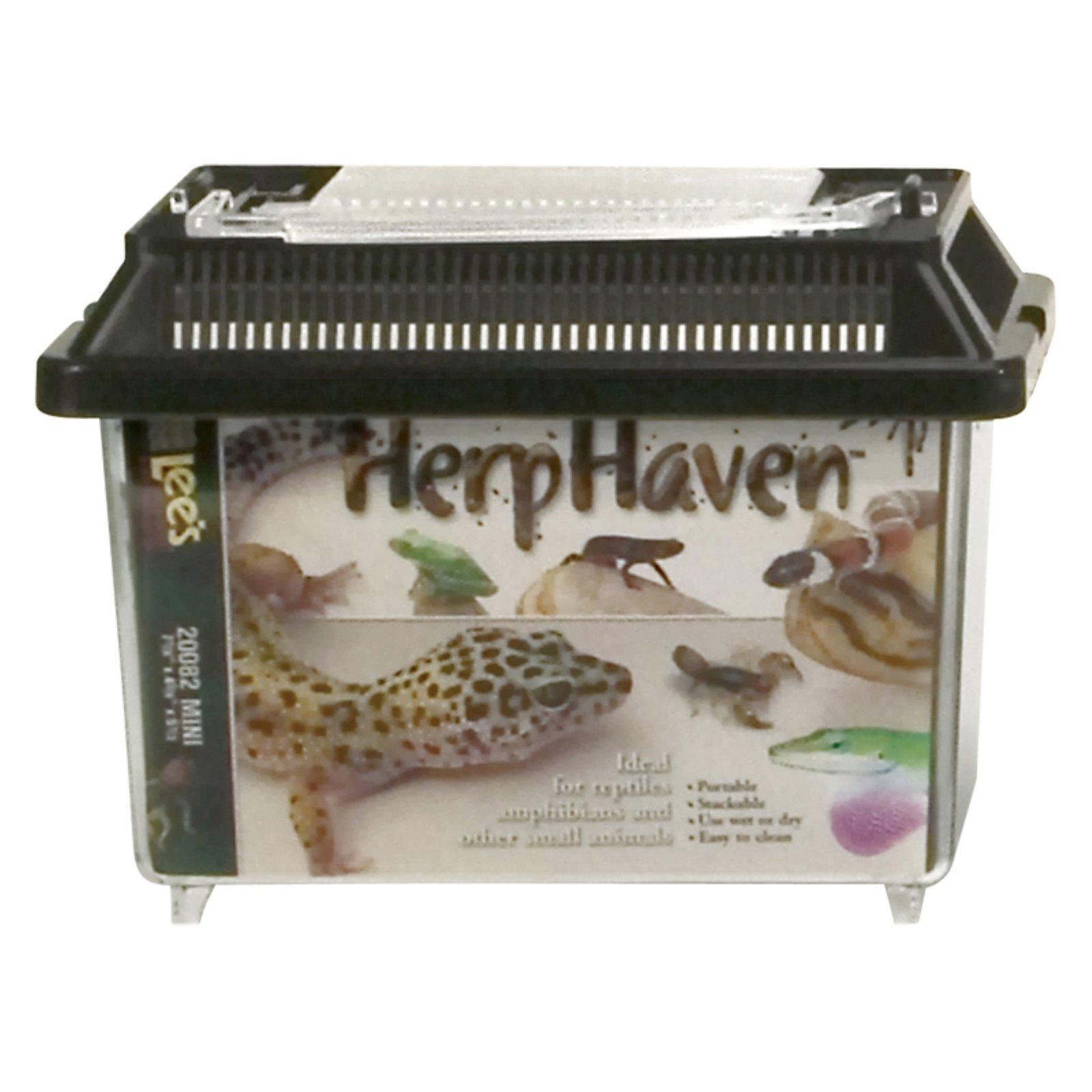 Lee's Aquarium HerpHaven Rectangle Reptile Carrier by 20084