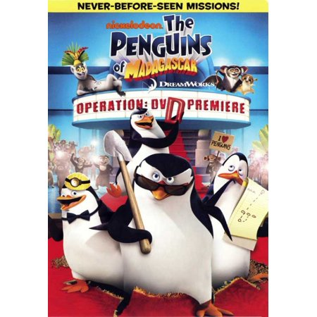 The Penguins of Madagascar Operation - DVD Premiere Movie Poster (11 x 17)