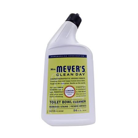 Bowl Lemon Peel - Mrs. Meyer's Clean Day Toilet Bowl Cleaner, Lemon Verbena, 24 Fluid Ounces