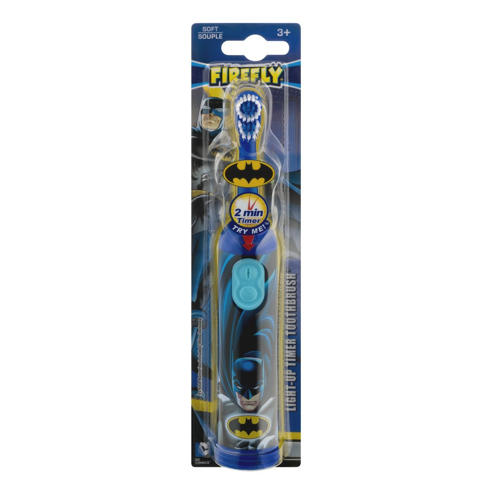 Firefly Light-Up Timer Toothbrush Soft, 1.0 CT