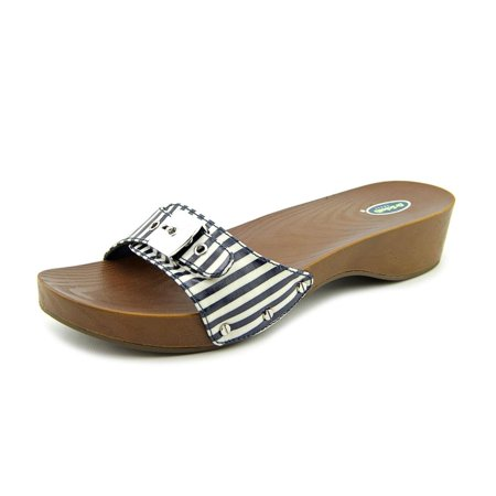 5bf73b72a8cd93 Dr. Scholl s Shoes - Dr. Scholl s Classic Open Toe Synthetic Slides Sandal  - Walmart.com