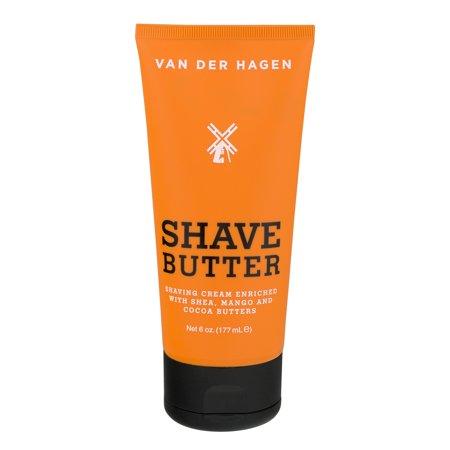 Van der Hagen Shave Butter, 6.0 oz (Van Der Hagen Glycerin)
