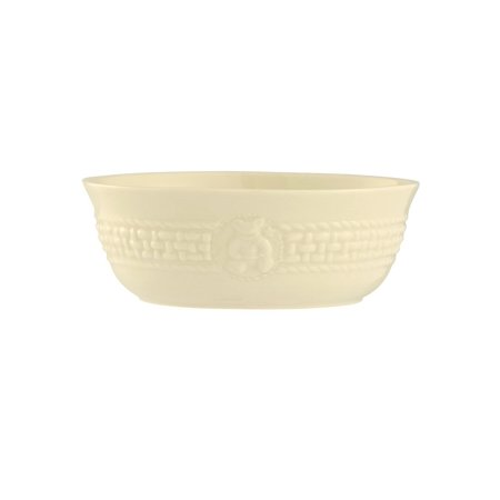 4153 Galway Weave Baby Bowl, 5.7 by 2-Inch, White, Designed and handcrafted in Ireland By Belleek - Walmart.com