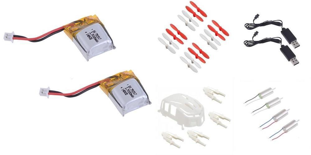 Estes Proto-X [QTY: 1] 2x Clockwise Counter-Clockwise 6mm Motors Engines [QTY: 2] Li-Po... by