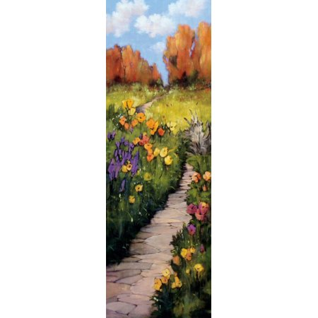Path Beneath Your Feet Stretched Canvas - Andrew Birlington (8 x - Stretch Your Feet