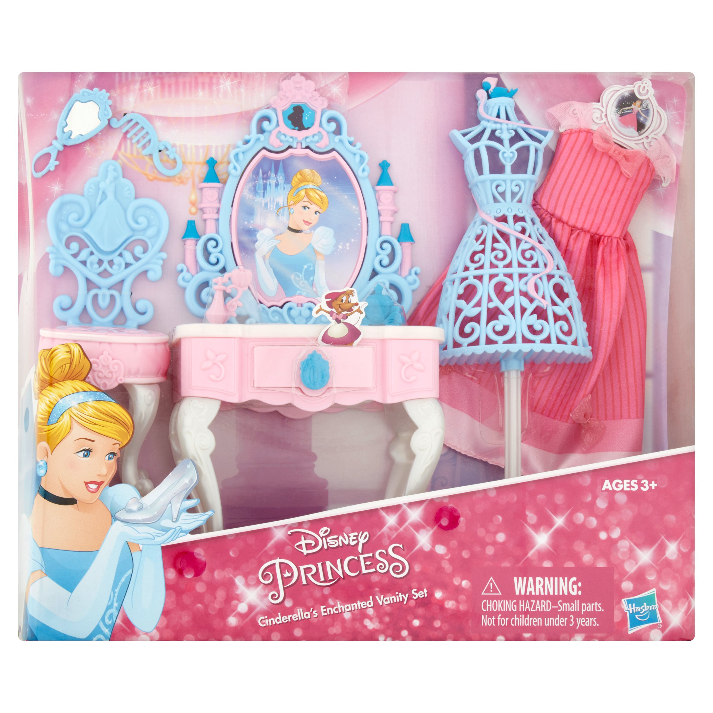 Hasbro Disney Princess Cinderella's Enchanted Vanity Set Ages 3+ by Hasbro