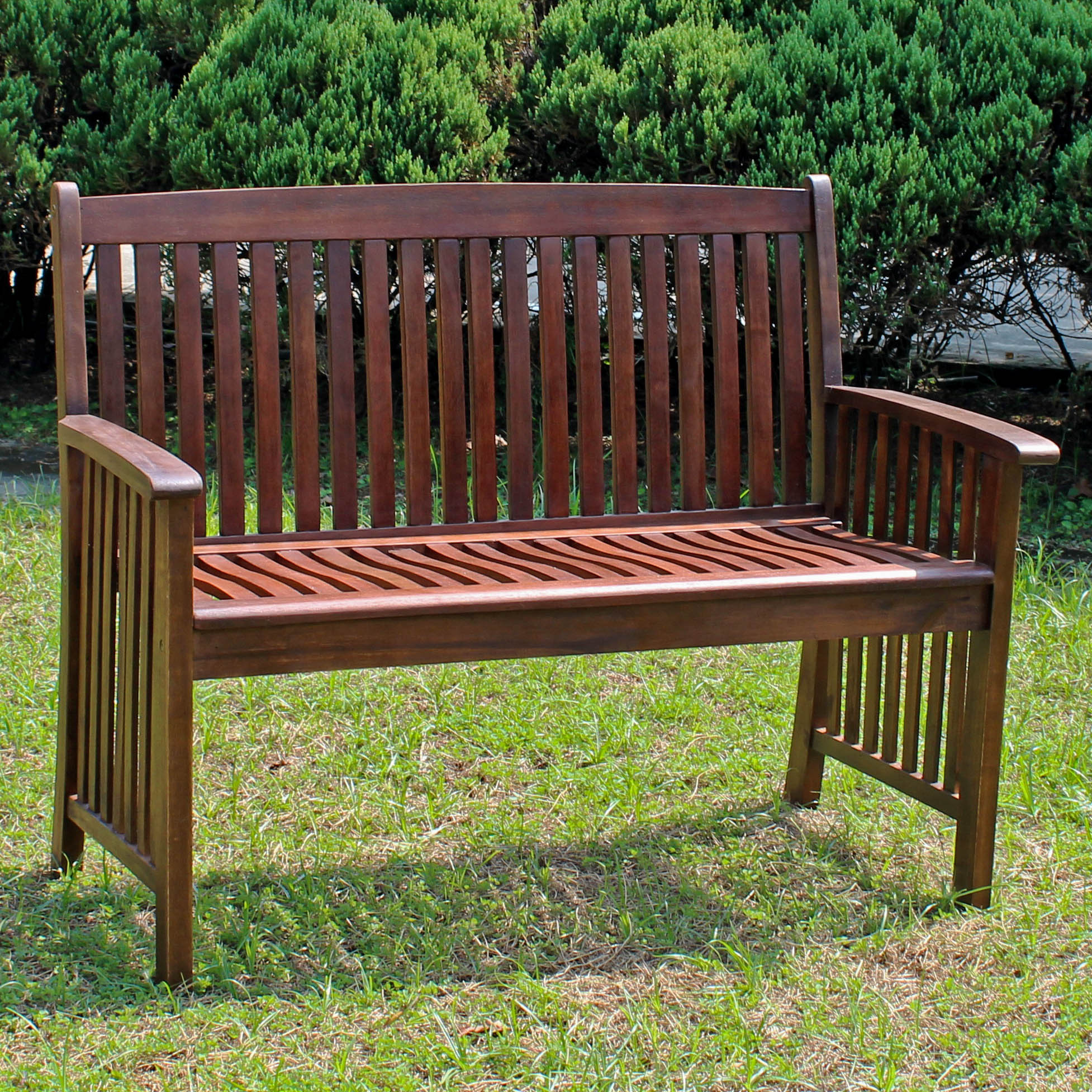 Highland Acacia Denver 2 Seater Park Bench