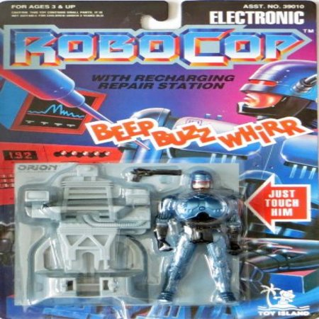 Recharge Station - Electronic Robocop with Recharging Repair Station