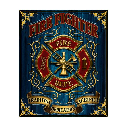 Firefighter Maltese Cross 50