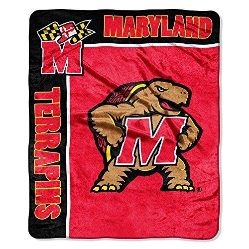 Maryland Terrapins 50x60 NCAA School Spirit Royal Plush Raschel Throw