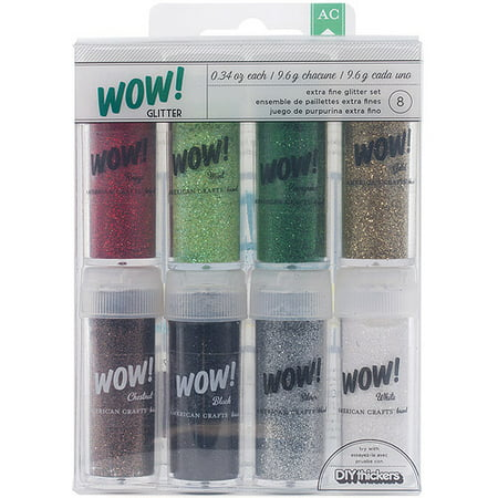 American Crafts Christmas Wow Glitter Extra Fine Christmas ()