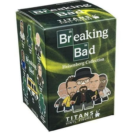 Breaking Bad Titans  The Heisenberg Collection 4 Blind Boxes Vinyl Figure
