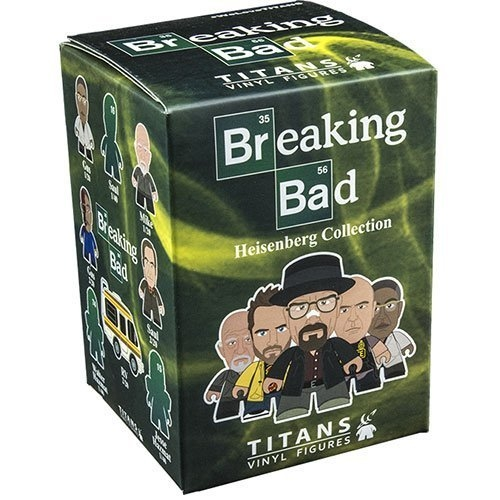 Breaking Bad TITANS: The Heisenberg Collection 4 Blind Boxes Vinyl Figure