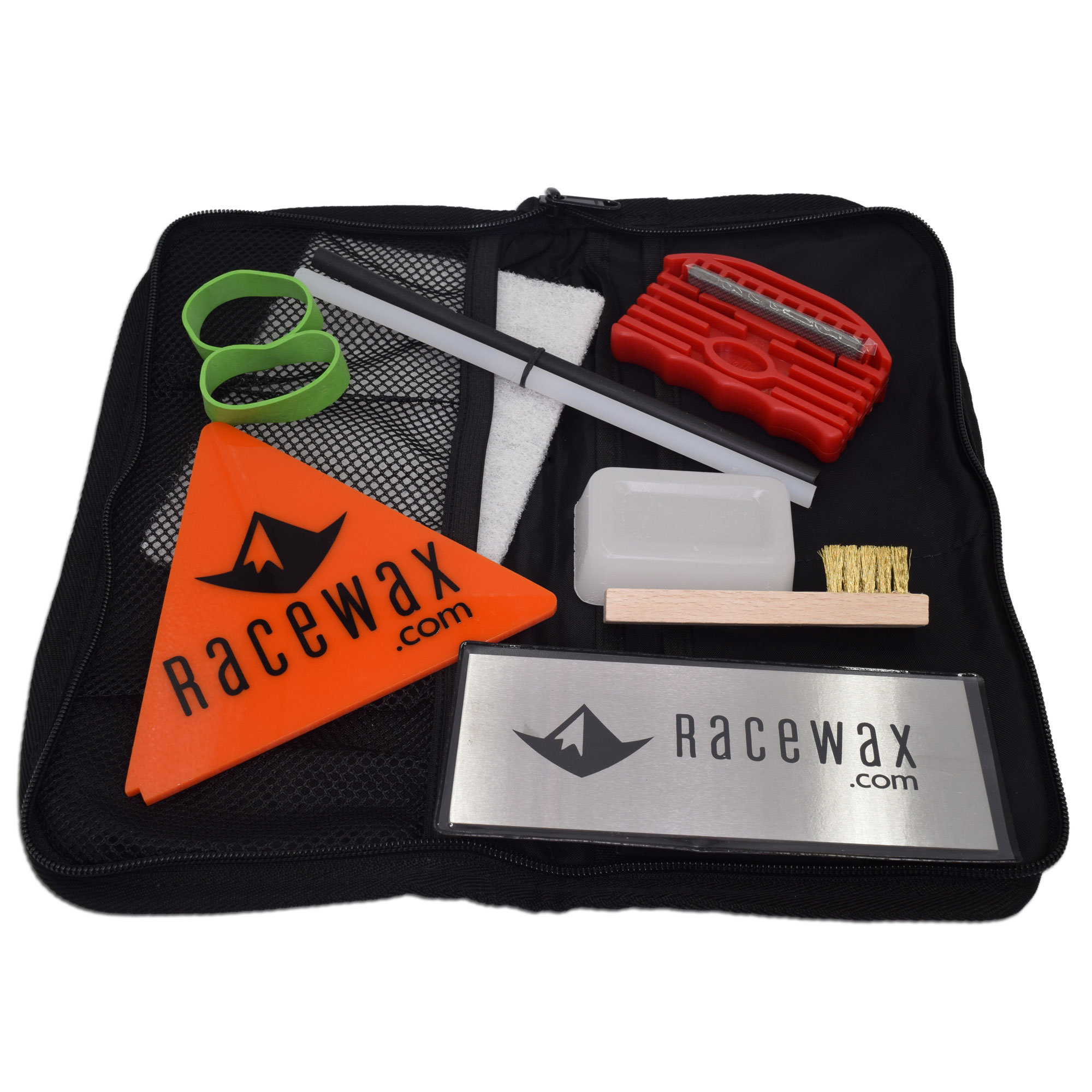 RaceWax Quick Tune Ski Snowboard Wax Tuning Kit by RaceWax