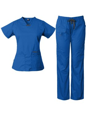 33a37e6d8fd Product Image Women's Utility Multi-Pocket Medical Scrub Set, Style 2043