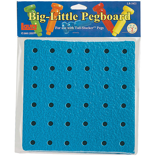 Patch Products 2422 Big Little Pegboard - 8 in.