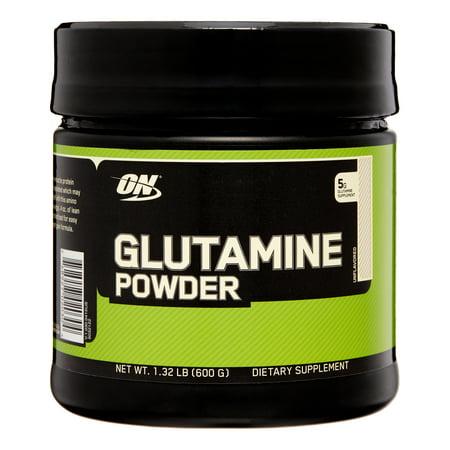 Optimum Nutrition Glutamine Powder, 116 Servings (Vital Nutrients Glutamine Powder)