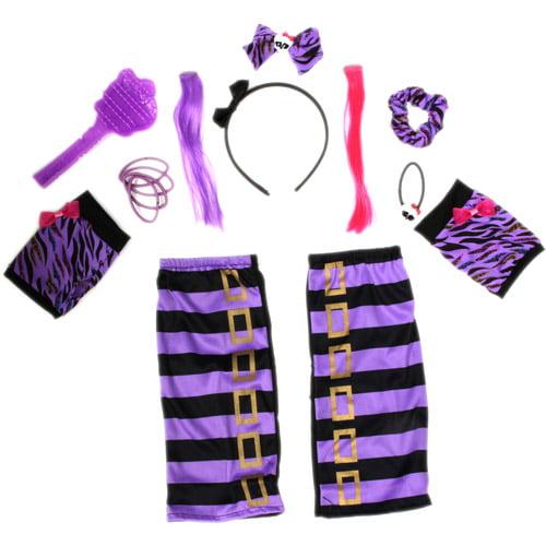 Monster High Accessory Set, Purple Clawdeen
