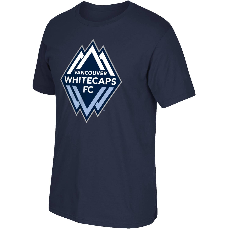 MLS Vancouver Whitecaps Mens Oversized Logo Short Sleeve Tee