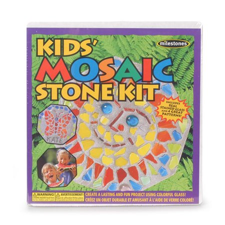 Milestones Kids Mosaic Stone Kit - 4 Patterns Per Kit](Mosaic Pattern)