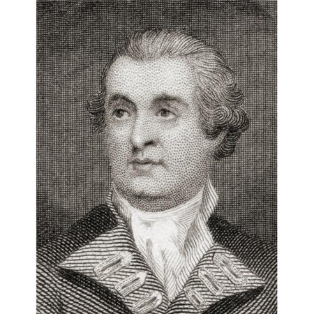 Admiral Mariot Arbuthnot,1711 to 1794 British Admiral, Who Commanded The Royal Navys North American Station During The American War For Independence Poster Print, 24 x 32 - Large - image 1 de 1