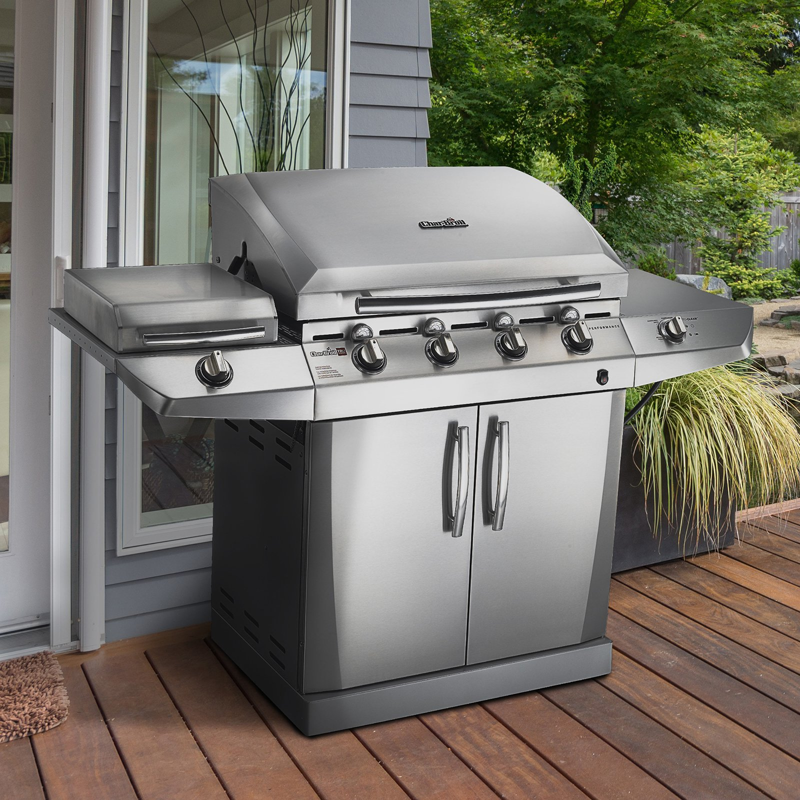 Char-Broil Performance T-47D Tru Infrared Gas Grill with Auto Clean