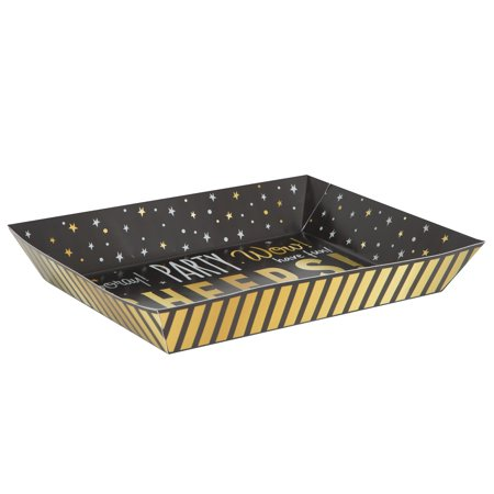 Unique Industries You Did It! Graduation Paper Snack Tray, 15 x 11 in, 1ct