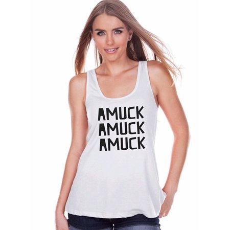 Top 9 Halloween Tropes (7 ate 9 Apparel Womens Amuck Halloween Tank Top -)