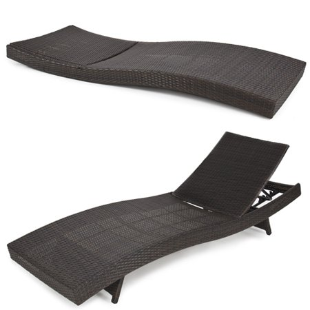 BCP Outdoor Patio Furniture Wicker Rattan Adjustable Pool Chaise Lounge  ChairBCP Outdoor Patio Furniture Wicker Rattan Adjustable Pool Chaise  . Outdoor Lounge Chairs Walmart. Home Design Ideas