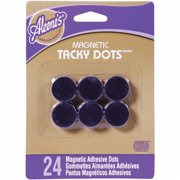 I Love To Create 29478 Aleene's Magnetic Tacky Dots 24/Pkg-
