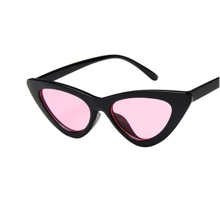 Retro Triangle Cat Eye Sunglasses UV400 Clean Vision Glasses Eyewear Valentine's Day (Valentine's Day Sunglasses)