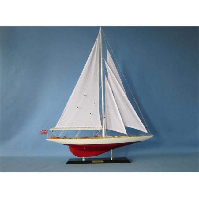 Handcrafted Model Ships Sceptre35 35 in. Wooden Sceptre Limited Model Sailboat Decoration by Handcrafted Model Ships