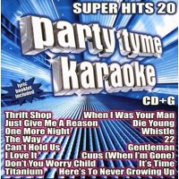 Party Tyme Karaoke: Super Hits, Vol. 20 (CD)