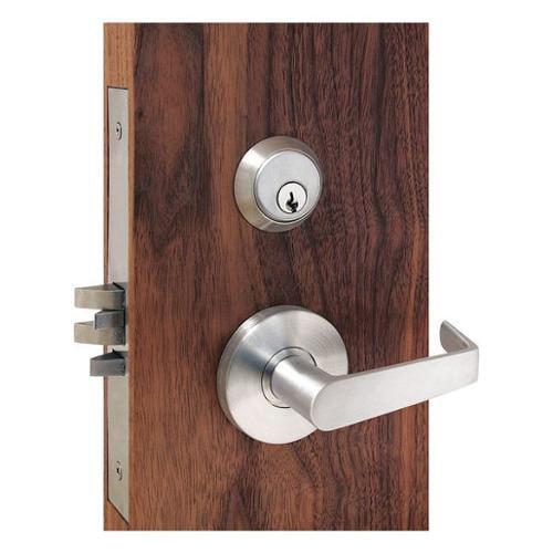 TOWNSTEEL MSS-242-Q-626 Mortise Lockset, Satin Chrome, 24VDC, 3-Pos