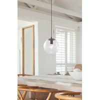Better Homes & Gardens 1-Light Bare Globe Pendant Light, Bronze
