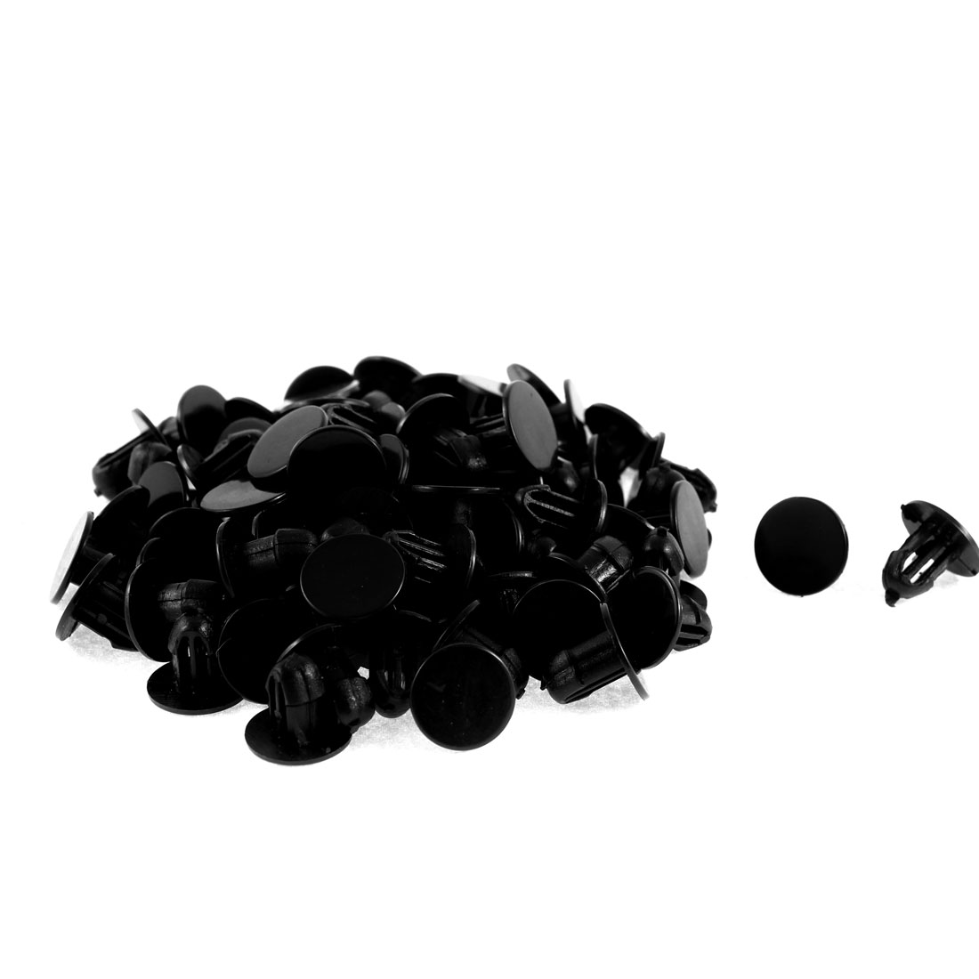 82Pcs Machine Cover Mini Plastic Fastener Clip 6mm Hole Dia for Honda - image 1 of 1
