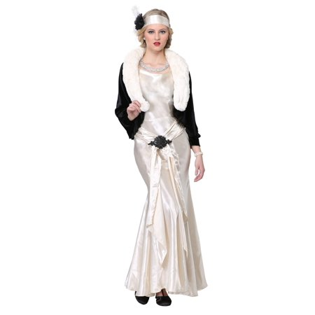 1920's Socialite Womens Costume - 1920 Costumes