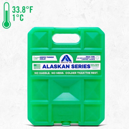 Long-Lasting Ice Pack for Coolers, Lunches, Camping, Fishing, and More, Alaskan Series by Arctic Ice, Reusable Large Ice Pack](Pop Up Cooler)
