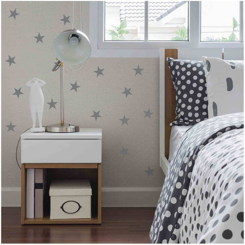 Owl Hills Stars Wall Stickers, 2.5""