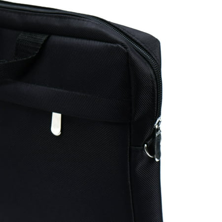 "15"" 15.4"" 15.6"" Laptop Notebook Carry Bag Case Pouch Shoulder Strap Black - image 5 of 6"
