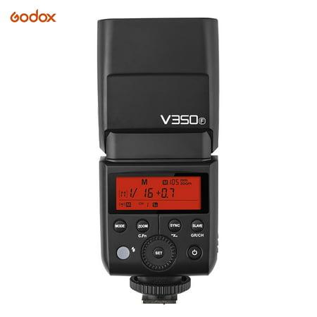 Godox V350F Compact Size 2.4G Wireless Speedlite Master/ Slave Camera
