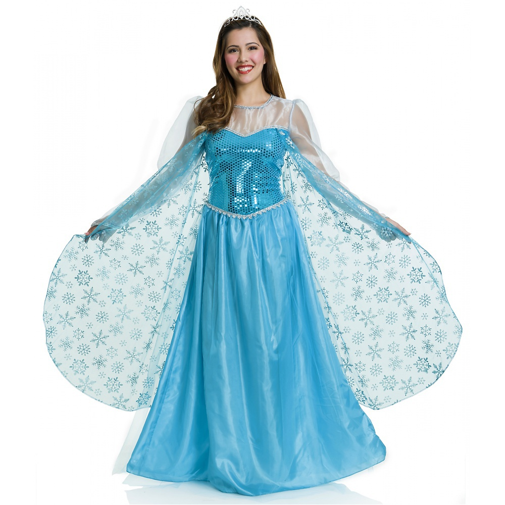 Ice Queen Adult Costume - Large