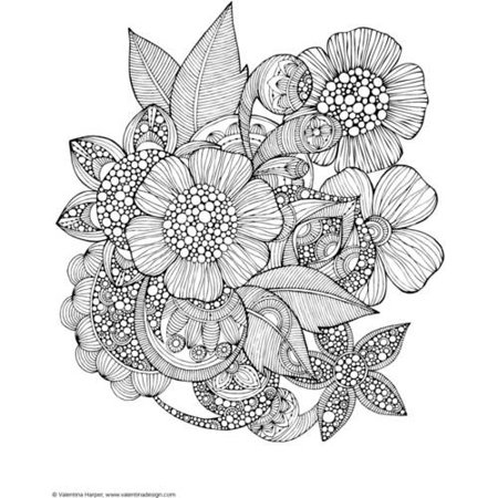 Design Originals Creative Coloring Book Art Activity Pages To Relax