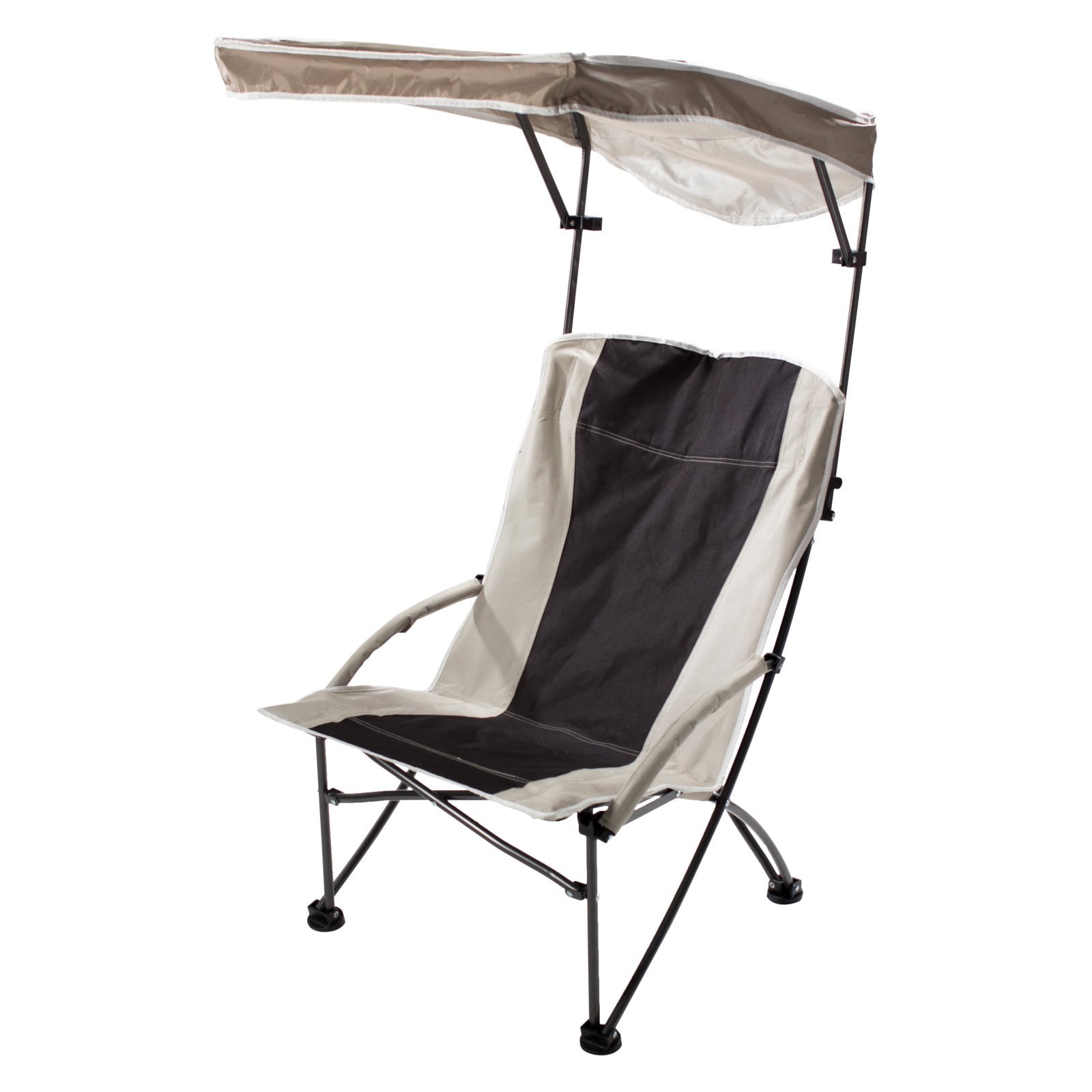 Click here to buy Quik Shade Pro Comfort Folding High Camp Chair with Canopy by Overstock.