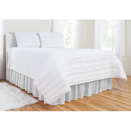 Mainstays Kids Tulle Double Layer Bedskirt
