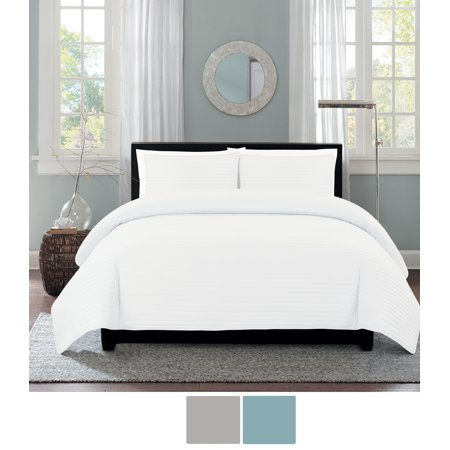 - NC Home Fashions One Inch Channel quilt set, Twin, Bright White